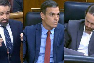 Santiago Abascal (VOX) denuncia los ataques a la Corona de Iglesias y el silencio cómplice de Sánchez