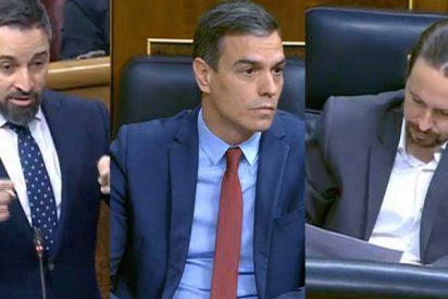 Santiago Abascal (VOX) critica los ataques a la Corona de Iglesias y el silencio cómplice de Sánchez