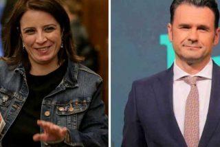 """Reprimenda de Adriana Lastra (PSOE) a Iñaki López (laSexta) por levantarse equidistante: """"Solo crispa la derecha"""""""