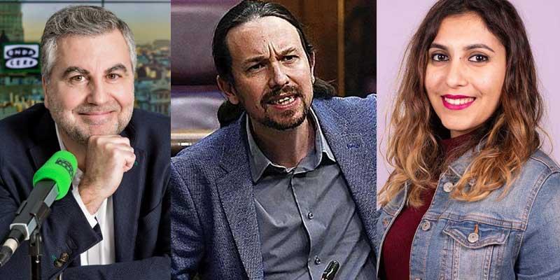 """Alsina: """"Con el aire que le dio Podemos a las cloacas, y ahora Pablo Iglesias está mudo con lo de la tarjeta de Dina Bousselham"""""""