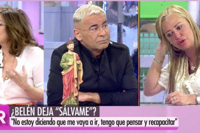 """Ana Rosa saca la cara por Belén Esteban en su choque con Jorge Javier: """"La veo absolutamente sometida"""""""