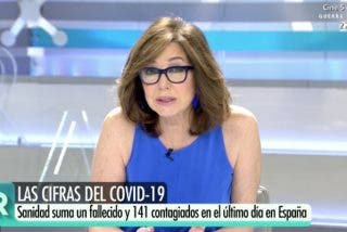 """Colosal golpe de Ana Rosa: """"A las víctimas de más que no puede 'ubicar' el Gobierno, sus familias sí lo han hecho: en el cementerio"""""""