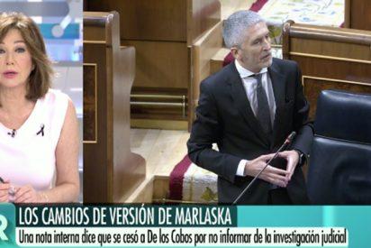"Ana Rosa empuja a Marlaska a la puerta de salida: ""Le queda el camino de la verdad"""