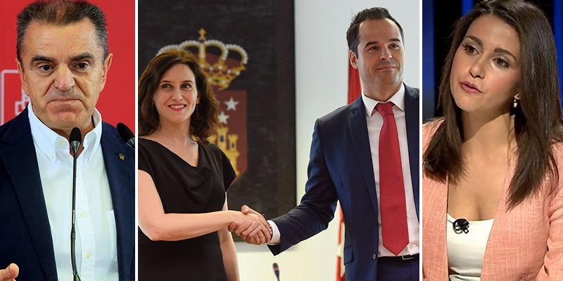 Inés Arrimadas cierra la puerta al perturbado plan del PSOE de asaltar la Comunidad de Madrid conjuntamente