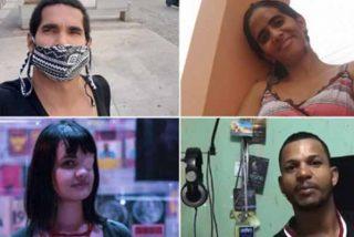 La dictadura cubana secuestra a cuatro artistas, iban a denunciar que fueron víctimas de violencia policial