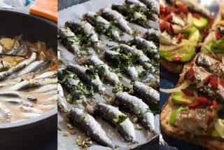 Xoubas: Tres maneras de preparar las sardinillas en Galicia