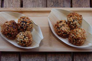 Bombones de morcilla con apariencia de Ferrero Rocher: la receta del mejor aperitivo