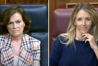 Cayetana Álvarez de Toledo 'le tira el café amargo a la cara' a Carmen Calvo