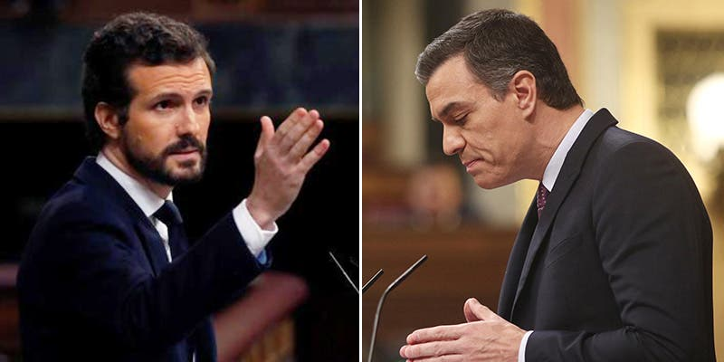 """Pablo Casado lanza a la cara a Sánchez sus dos años de 'presidencia fake': """"No merecemos a alguien que miente sin parar"""""""