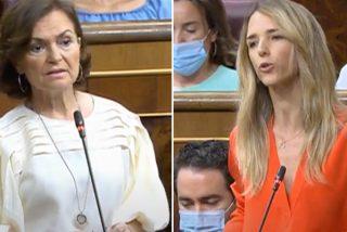 """Cayetana deja rota a Carmen Calvo por ocultar 17.000 muertos por Covid: """"Es un abismo moral"""""""