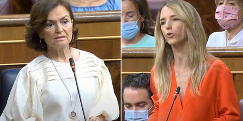 Cayetana deja rota a Carmen Calvo por obviar a 17.000 muertos por Covid: Es un abismo moral