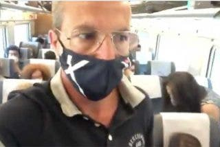 """Cristóbal Soria muestra cómo viajan los pasajeros del AVE Madrid-Sevilla: """"¡Que alguien pare esto!"""""""