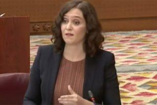 Díaz Ayuso 'barre' a Isa Serra y demás podemitas en el Pleno:
