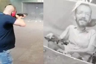 El vídeo que pone de los nervios a Echenique: 'le disparan' al rostro con una escopeta