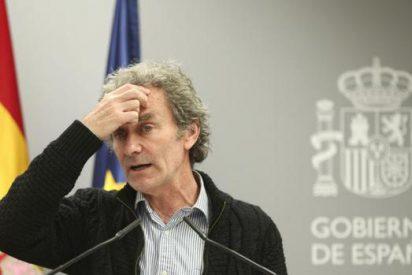 La 'bromita' de Fernando Simón tras anunciar 4.137 nuevos casos de COVID: «Voy a meterme el dedo en la nariz»