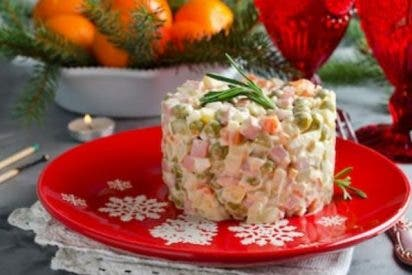 Ensalada Olivier, la ensaladilla rusa original