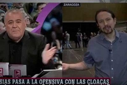 """Podemos recrudece su campaña contra la prensa y encarga un molesto perfil de García Ferreras: """"El amigo de sus amigos"""""""