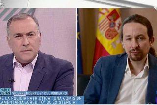 Fortes sirve en bandeja a Iglesias los medios públicos para que siga extendiendo la idea de la conspiración 'golpista' en contra del Ejecutivo