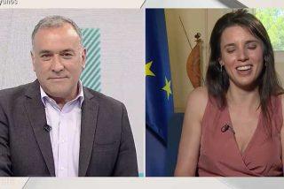 """Lacrimógeno cierre de filas de TVE con Montero tras la denuncia a la concejala de VOX: """"¿Sus hijos se dan cuenta de lo que pasa?"""""""