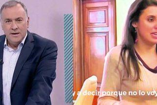 Fortes se jacta de no emitir el vídeo de Irene Montero pero oculta que exigía a TVE publicar las grabaciones a Fernández Díaz