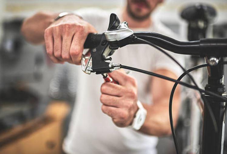 ajuste de frenos bicicletas