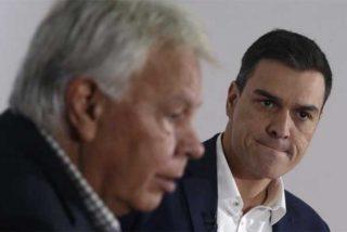 El claudicante Sánchez alienta la ofensiva contra Felipe Gonzalez de sus socios proetarras, golpistas y podemitas