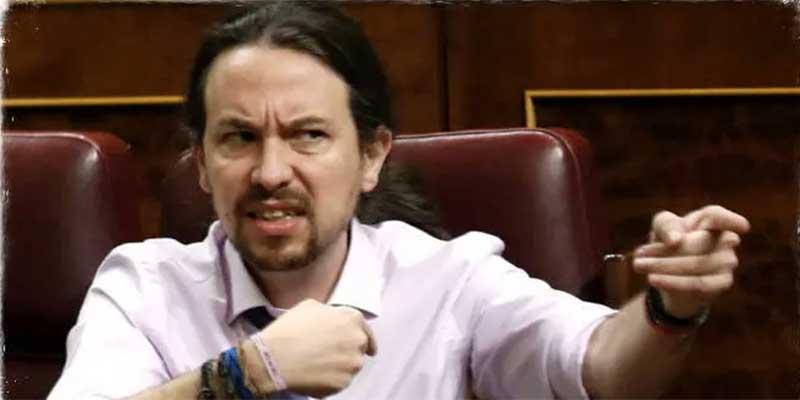"""El panfleto de Pablo Iglesias acusa a """"los periodistas de mierda"""" de querer provocar una guerra civil"""