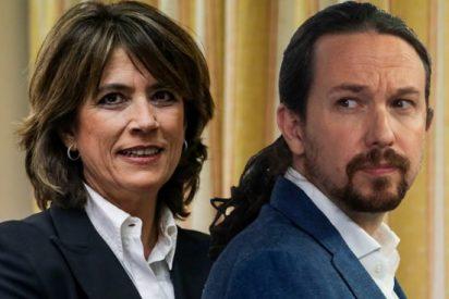 Dolores Delgado baja a las 'cloacas de Iglesias' para rescatar a los fiscales que filtraron datos a Podemos