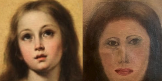 El 'Ecce Homo' encuentra pareja: desfiguran una Inmaculada de Murillo durante una restauración
