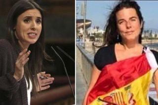Irene Montero denuncia a la concejal de VOX en Galapagar por las protestas ante su chalet