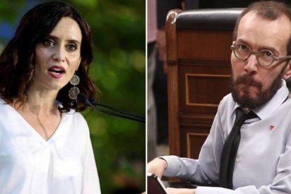 Isabel Díaz Ayuso responde con un soberbio sopapo a la sucia campaña contra Madrid y los madrileños