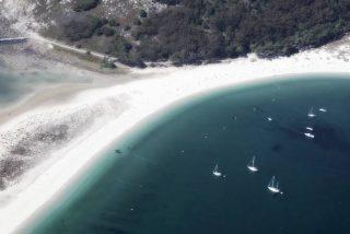 Galicia: En las Islas Cíes se encuentra la