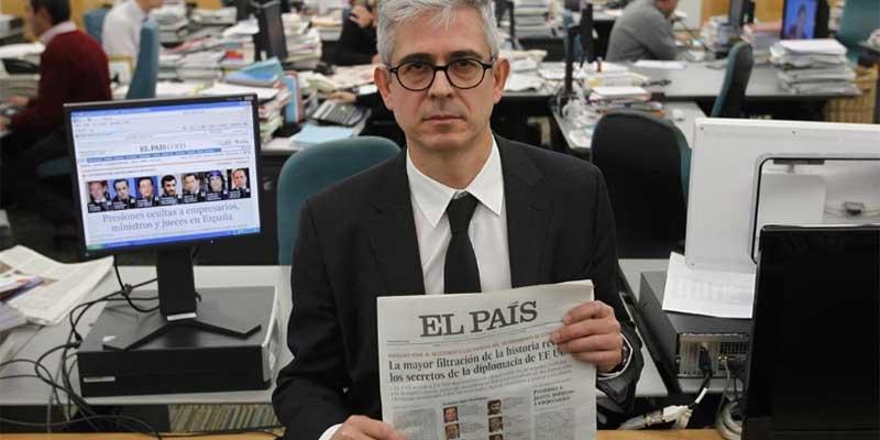 Javier Moreno deja en el aire nuevos recortes en El País: «Manuel Mirat no me ha dicho que haga otro ERE»