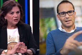 """Lucía Méndez no digiere lo que David Jiménez dijo de ella en 'El Director': """"Que me llame 'La Digna' es grosero y barato"""""""