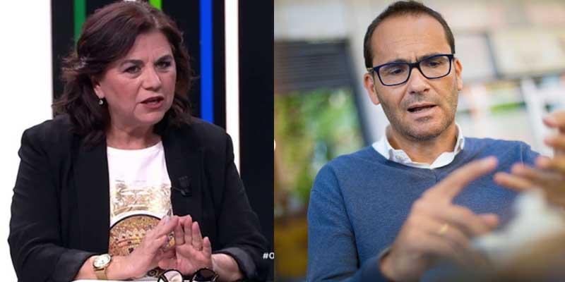 """Lucía Méndez no digiere lo que David Jiménez dijo de ella en 'El Director': """"Es grosero y barato"""""""