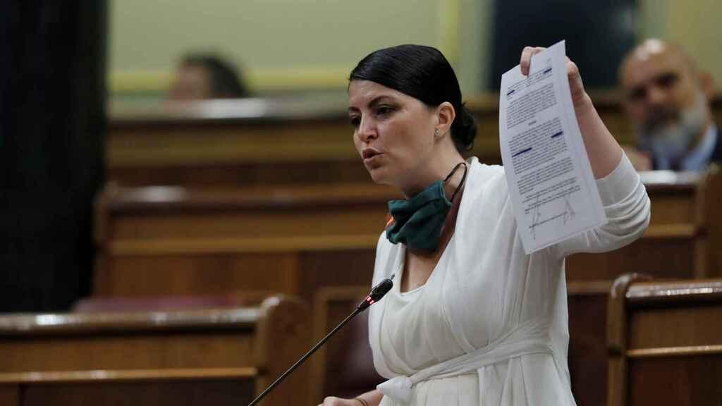 Brutal réplica de la diputada de VOX Macarena Olona a una machista campaña con un 'satisfyer' en su contra