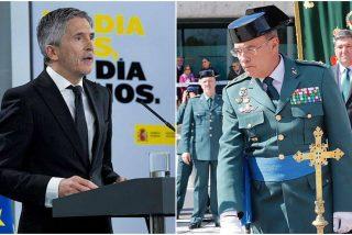 Pérez de los Cobos pone a temblar a Marlaska: Está a un paso de ser readmitido en su puesto en la Guardia Civil