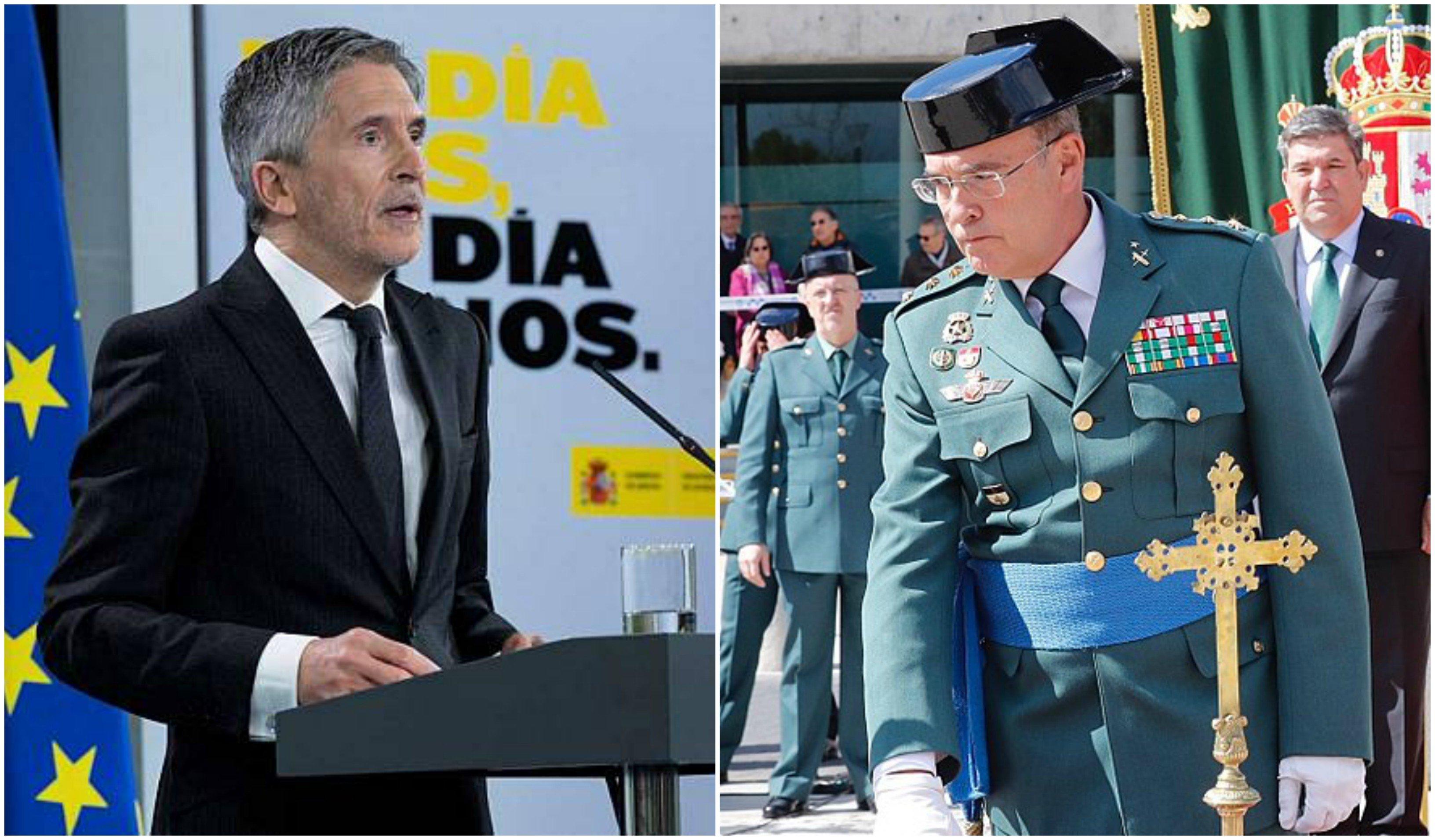 La 'venganza' de Pérez de los Cobos a Marlaska, en pausa por orden de la Audiencia Nacional