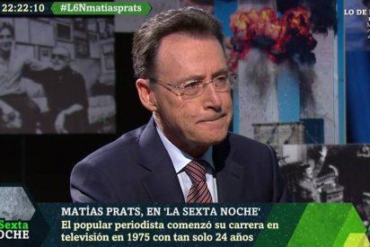 Matías Prats fulmina con una foto a García Ferreras y a Pablo Iglesias y triunfa en las redes