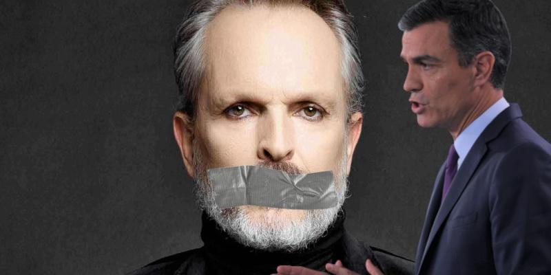 La crispación de Miguel Bosé con Sánchez detona: denuncia la censura a la que le han sometido