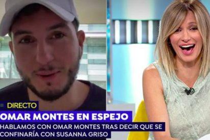 """La 'propuesta indecente' de Omar Montes a Susanna Griso en directo: """"No te lo quería decir por vergüenza"""""""