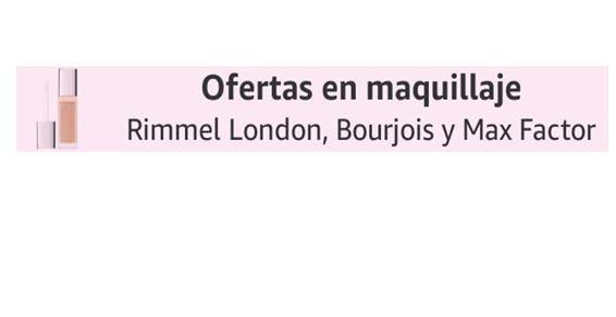 Ofertas en Rimmel London, Bourjois y Max Factor