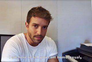 """Pablo Alborán da un golpe en la mesa: """"Soy homosexual. Necesito ser más feliz de lo que era"""""""
