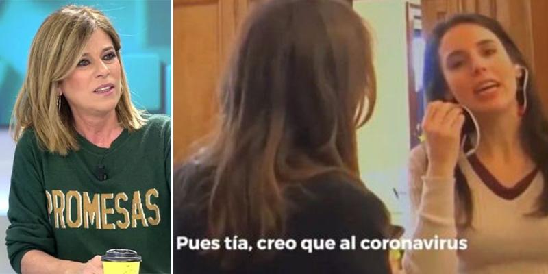 """Palomera insta a cazar al mensajero para defender a la 'ministra guay': """"¡Encuentren al filtrador del vídeo!"""""""
