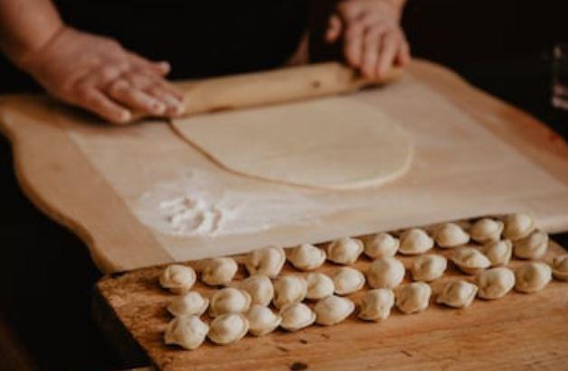 pelmeni elaboración