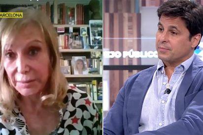 """Pilar Eyre se marcha de 'Espejo Público' después de un tosco choque con Fran Rivera en directo: """"¡No queremos gente como tú!"""""""