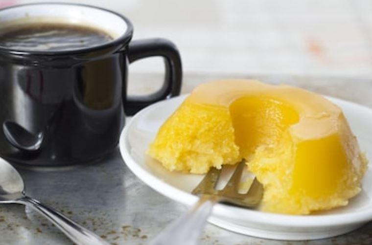 Quindim tradicional, receta brasileña