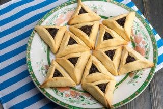 galletas hamentaschen o hamantash