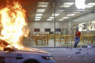 Apple 'captura' a los saqueadores de EEUU: los iPhone robados emiten una señal que notifica a la policía