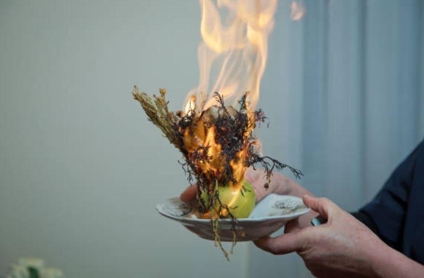ruda quemar